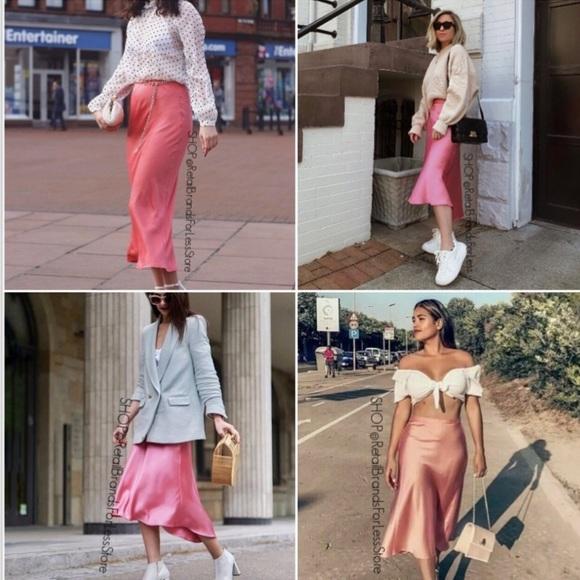 Zara Dresses & Skirts - Zara satin skirt